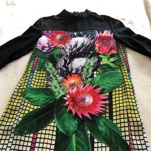 Botanical inspired dress
